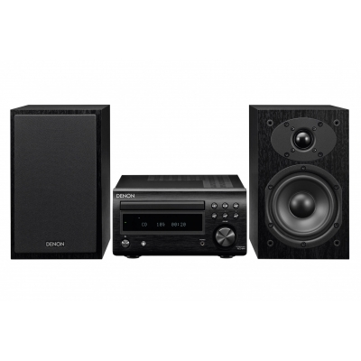 Audioset Denon DM41DAB Zwart