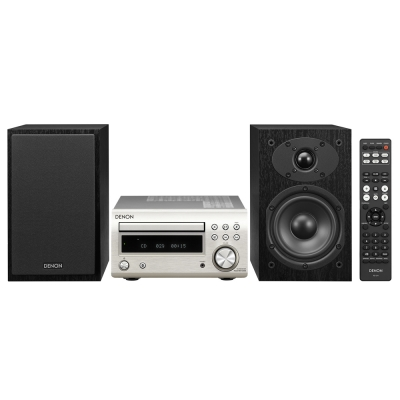 Audioset Denon DM41DAB Zilver